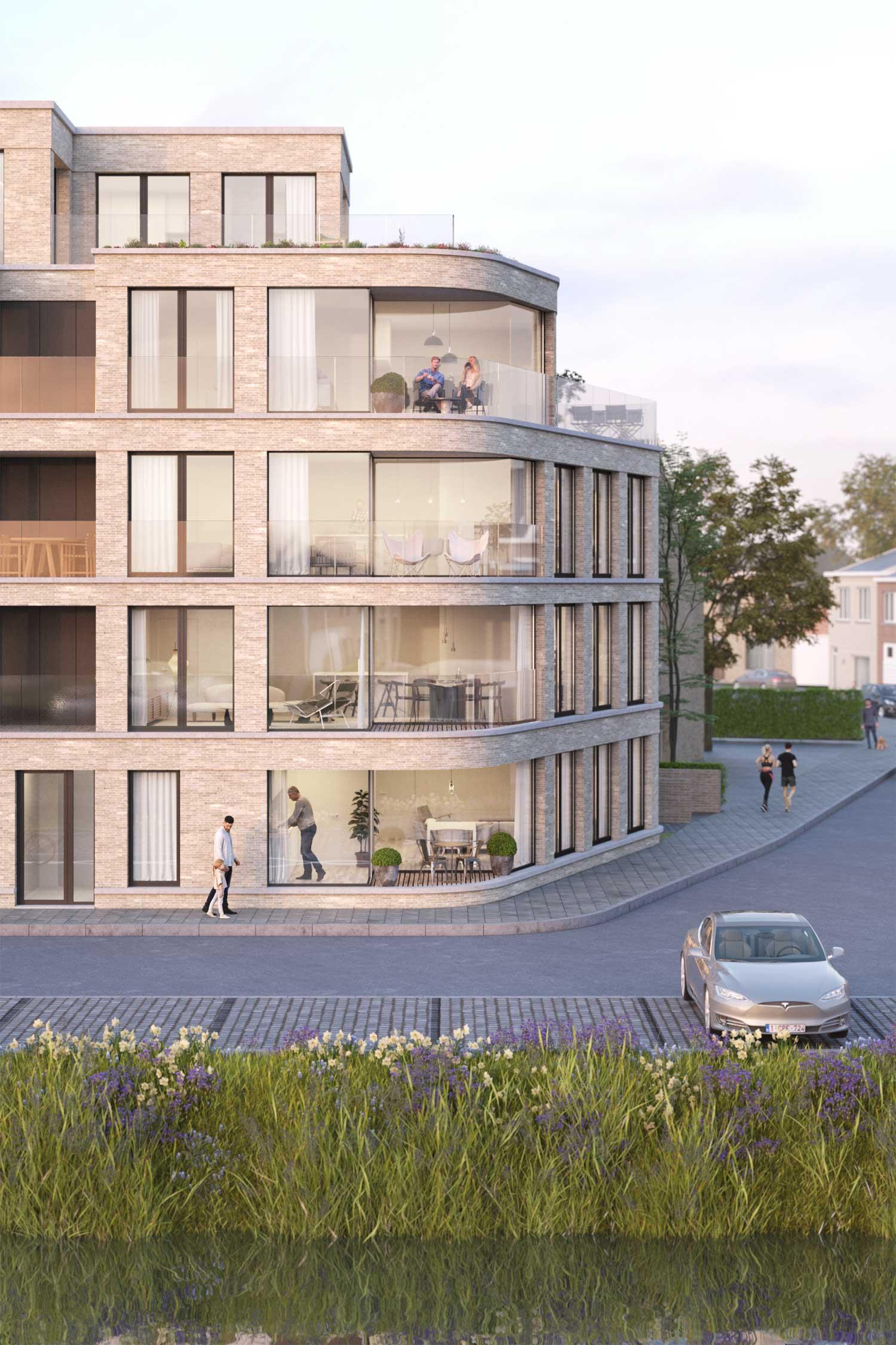 Hook, WOONN, development, Veurne, Rozendalstraat