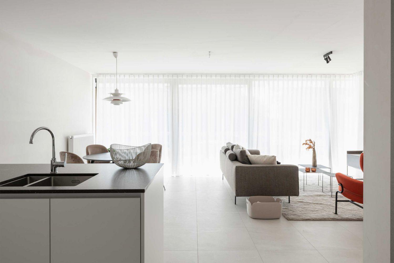 Lime, WOONN, development, Veurne, assistentiewoning, modelappartement, Lindendreef, Zuidstraat